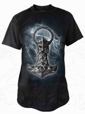 Photo of Mjolnir T Shirt Alchemy Gothic