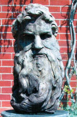 Photo of Neptune Stone Sculpture