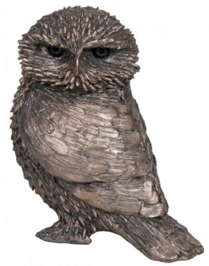 Photo of Olly Little Owl Bronze Figurine (Thomas Meadows) 12cm