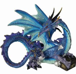 Photo of Piasa Blue Dragon Figurine (Alator)
