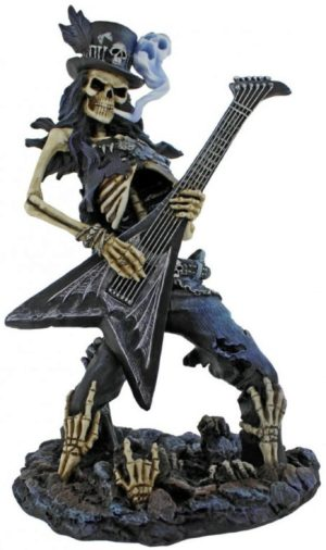 Photo of Play Dead Skeleton Rocker Figurine 24.5cm