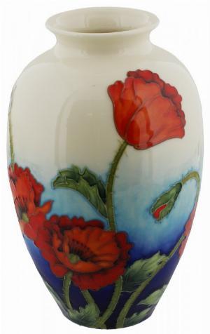 Photo of Poppy Design Vase 8 inches (Old Tupton Ware)