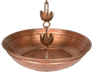 Photo of Rain Chain Splash Basin Accessory