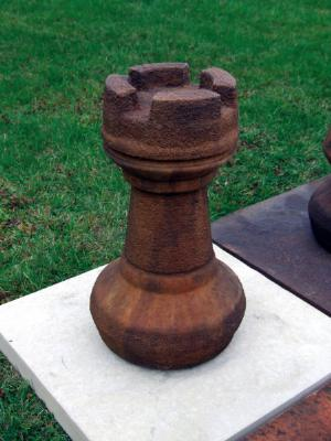 Photo of Rook Chess Piece Stone Ornament