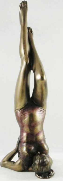 Photo of Salamba Sarvangasana Yoga Figurine Shoulderstand