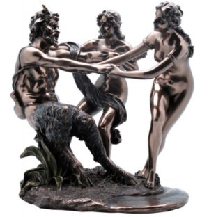 Photo of Satyr and Nymphs Figurine