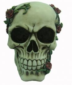 Photo of Skull and Roses Ornament