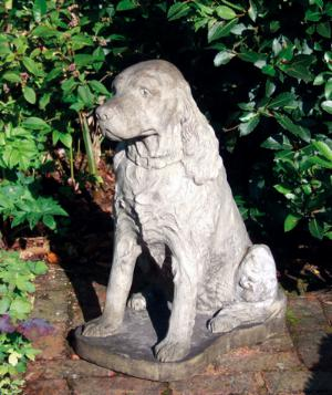 Photo of Spaniel Stone Dog Statue