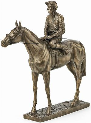 Photo of Sport of Kings Horse Medium Figurine (David Geenty) 23cm
