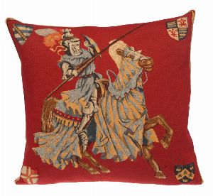 Phot of Templars Medieval Tapestry Cushion Ii