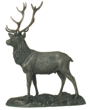 Photo of The Stag Bronze Sculpture