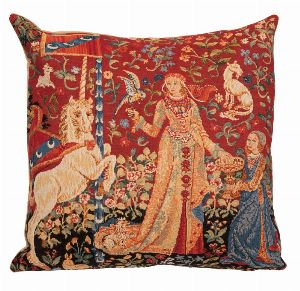 Phot of The Taste Medieval Tapestry Cushion
