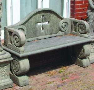 Photo of Tudor Stone Bench
