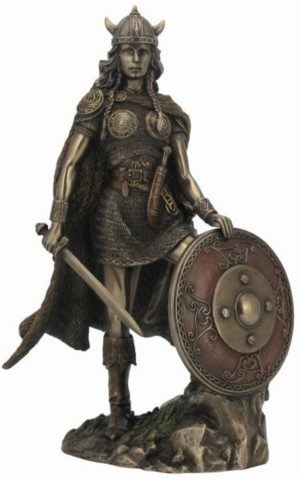 Photo of Valkyrie Bronze Statue 27 cm