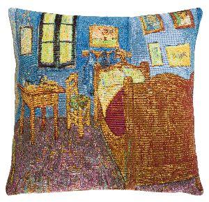 Phot of Van Gogh Bedroom In Arles Tapestry Cushion
