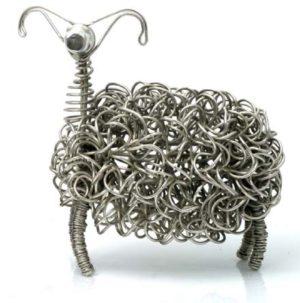 Photo of Wiggle Ram Metal Sculpture