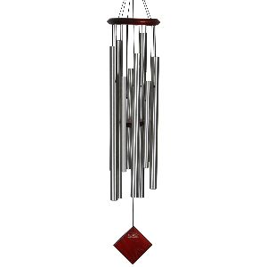 Phot of Woodstock Encore Wind Chimes of the Eclipse Silver