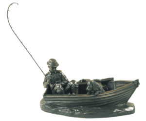 Photo of A Days Fishing Bronze Ornament