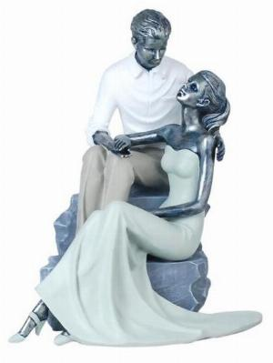 Photo of Amore Couple Sitting Figurine Large