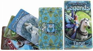 Photo of Anne Stokes Legends Tarot Cards