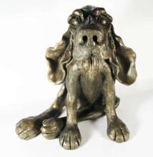 Photo of Benjamin the Dog Bronze Sculpture