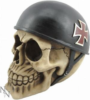 Photo of Biker Skull Ornament
