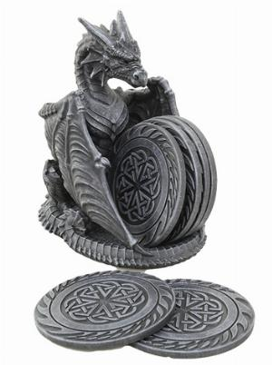 Photo of Black Dragon Coaster Set
