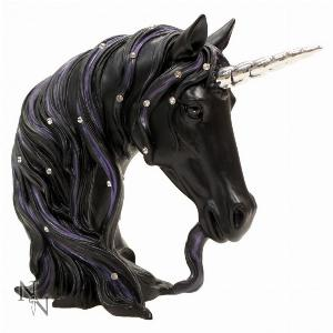 Photo of Black Unicorn Magnificence Ornament