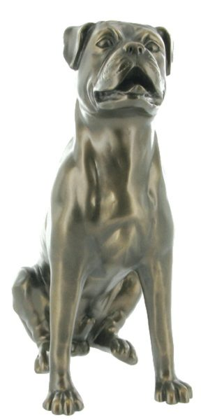Photo of Boxer Bronze Sculpture