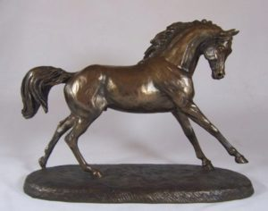 Photo of Cantering Arabian Horse Figurine (Harriet Glen)