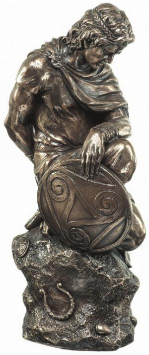 Photo of Celtic Warrior Bronze Figurine