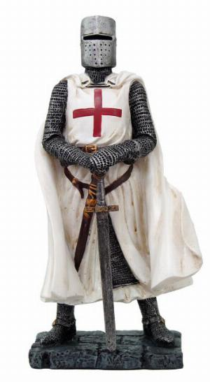 Photo of Crusader Knight Standing Figurine