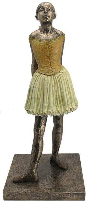 Photo of Degas Little Dancer Bronze Figurine Large 42cm