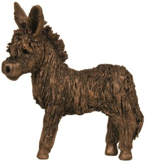 Photo of Donkey Foal Bronze Figurine (Veronica Ballan)