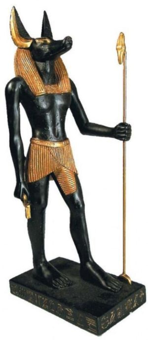 Photo of Egyptian Anubis Figurine