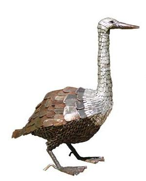Photo of Goose Metal Garden Ornament