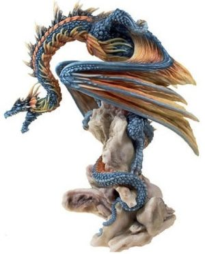 Photo of Grim Guardian Dragon Figurine (Andrew Bill) 21 cm