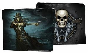 Photo of Gunslinger Skeleton Wallet James Ryman