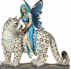 Photo of Hima Fairy Cat Rider Figurine 20cm