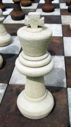 Photo of King Chess Piece Stone Ornament