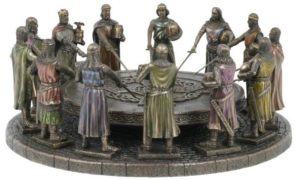 Photo of Knights of the Round Table Figurine Bronze