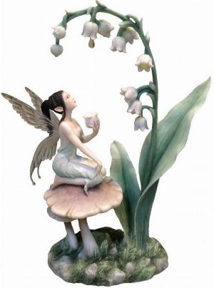 Photo of Lily of The Valley Fairy Designer Figurine (Rachel Anderson)