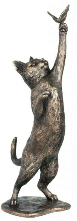 Photo of Playmate Cat Bronze Figurine 34 cm