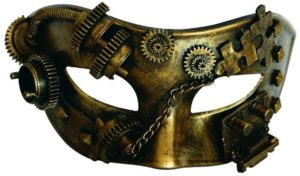 Photo of Puzzled Masquerade Steampunk Costume Mask