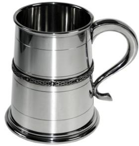 Photo of Single Celtic Band Medium Tankard