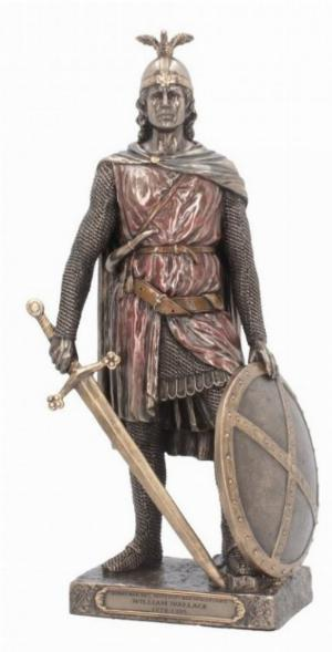 Photo of Sir William Wallace Bronze Figurine 29 cm