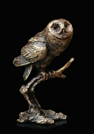 Photo of Tawny Owl Bronze Miniature (Butler and Peach)