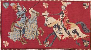 Phot of Templars Medieval Wall Tapestry