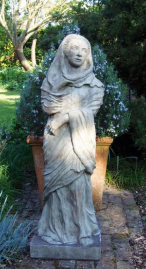 Photo of The Draped Lady Stone Statue
