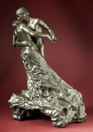 Photo of The Waltz Bronze Lovers Figurine (Camille) 28 cm